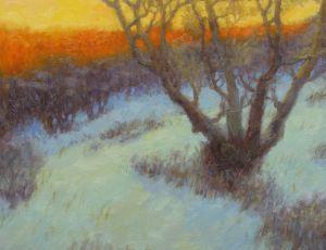 Winter Hillside by Rob Longley