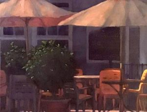 Cafe Maria by Linda Armstrong