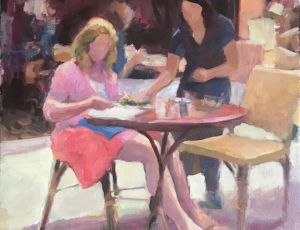 Lunch for One by Kathy Morrissey