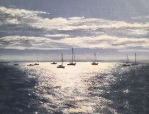 Silver Path by Ed Walsh  SOLD