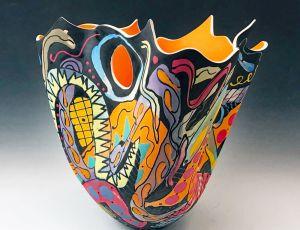 Tall Vase 191002