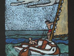 Sailing Off Truro #4