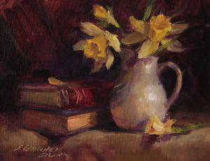 Daffodils & Books