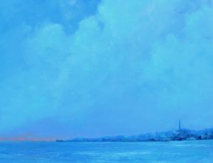 Provincetown in Shades of Blue