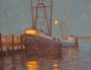 Wharf Reflections