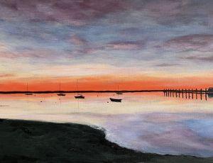 Early Harbor Light